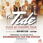 Flash Competition - WIN - Tickets to see the Tide + two tix to Splashdown 24th August 2016